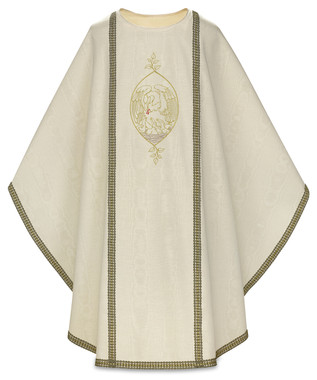 Chasuble with Pelican Design