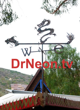 Lets this dragon wind vane gaurd your home against evil spirits and always let you know which way the wind blows