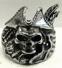Pirate Skull Ring Petwer