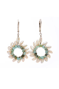 Small Sunburst Earrings