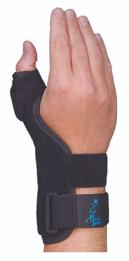 SUEDE THUMB SUPPORT SHORT UNIVERSAL