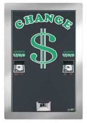 American Changer #AC2225:  Rear Load Bill Changer/Dual Hoppers/High Capacity