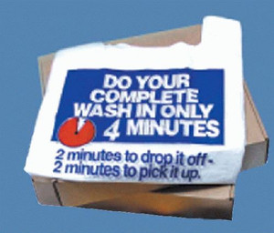Vend Rite Four Minute Wash Bags