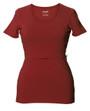Boob Nursing Top Short Sleeve Marsala