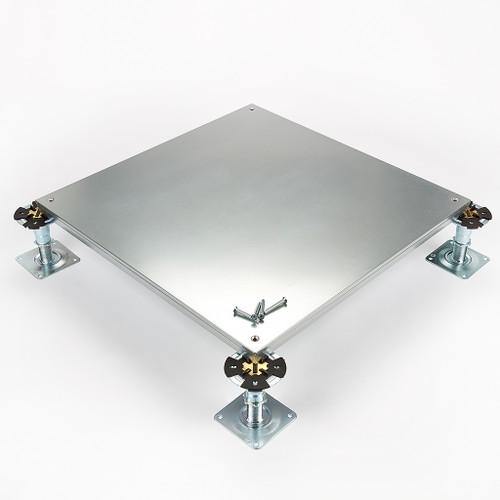 Metalfloor MFP.007/SD - 600 mm x 600 mm x 31 mm - PSA Heavy Grade Screw-Down Steel Encapsulated Access Floor Panel