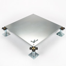 Metalfloor MFP.007/SD - 600 mm x 600 mm x 31 mm - PSA Heavy Grade Screw-Down Steel Encapsulated Access Floor Panel