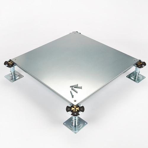 Metalfloor MFP.006/SD - 600 mm x 600 mm x 31 mm - PSA Medium Grade Screw-Down Steel Encapsulated Access Floor Panel