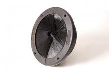"KoldLok 6"" Circular Integral Brush Seal Cable Entry / Grommet 46-40003"