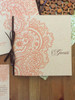 Beautiful handmade, personalized guest book. Lovely for Autumn!