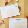 12 Artichoke Double-Sided Recipe Cards