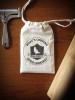 Hand-Stamped Musling Bag