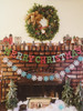 Wonderful Merry Christmas Garland!