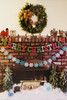 Wonderful holiday decor, it's so festive and charming!