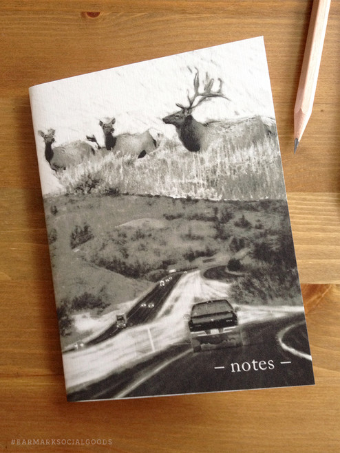 Open Road Pocket Note Book