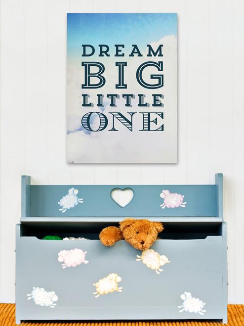 Dream Big Clouds Art Print