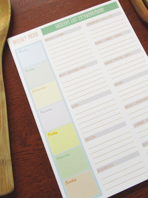 12 Grocer Weekly Menu and Grocery Lists