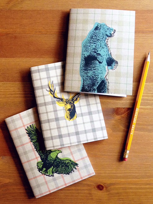 Spirit Animal Pocket Note Book Set