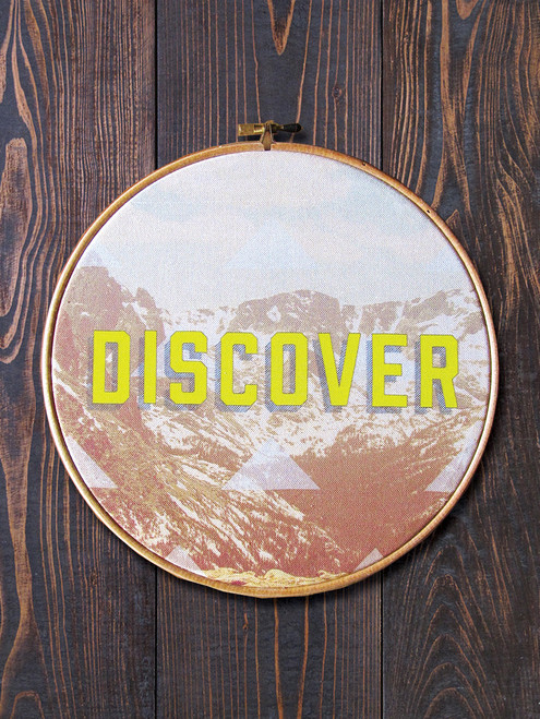 Discover Circular Hoop Art