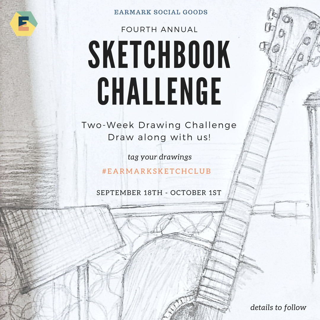 4th Annual Sketchbook Challenge!