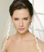 Bel Aire Bridal Wedding Veil V7117F- Fingertip Veil
