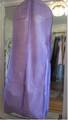 Water Resistant Breathable Wedding Garment Bag - Lavender