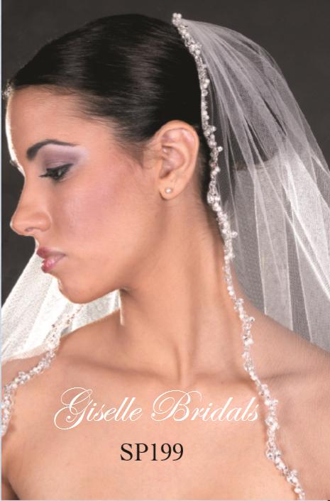 Giselle Bridal Veil Style SP199