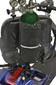 Diestco Oxygen D-Tank Holder for Scooters and Power Chairs