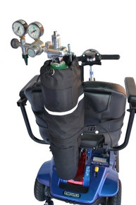 Diestco Oxygen E-Tank Holder for Scooters and Power Chairs