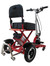Enhance Mobility Triaxe Sport Red - Rear