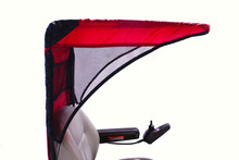 Diestco Vented Weather Breaker Canopy Red