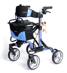 EV Rider Move-X Rollator Blue