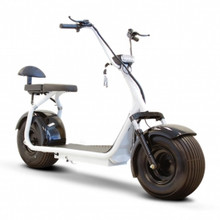 eWheels Fat Tire Electric Scooter - White