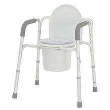 Merits Deluxe 3-In-1 Aluminum Commode - C321