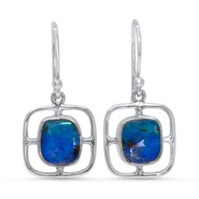 Lost Sea Opals - Boulder opal earrings