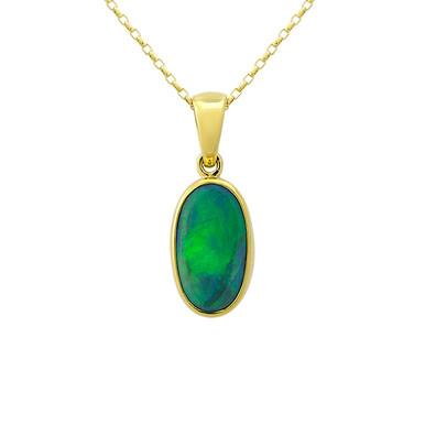 Black opal - Lost Sea Opals