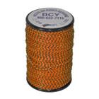 "BCY 62XS Serving .021"" (75 yds) Black/Flo Orange"