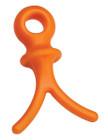 Pine Ridge Wishbone String & Cable Dampener - Orange (4/pkg.)