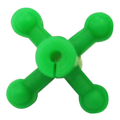 Bowjax Ultrajax I String Dampeners Bow Silencers (4pk) Flo Green