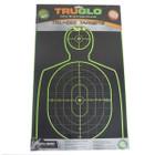 TruGlo Tru-See Handgun Target 12X18 6 Pack Green