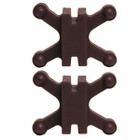 BowJax Revelation Split Limb Dampener fits 11/16in gap Brown