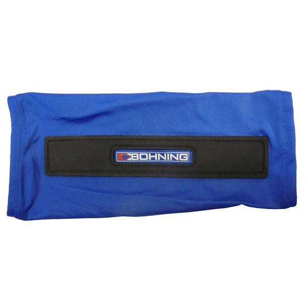 Bohning Blue Slip-On Armguard Small