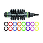 Pine Ridge Nitro Stabilizer (5.5in)* - Black Tactical - Lime Green