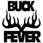 Buck Fever Vinyl Window Decal 6x6 #4112