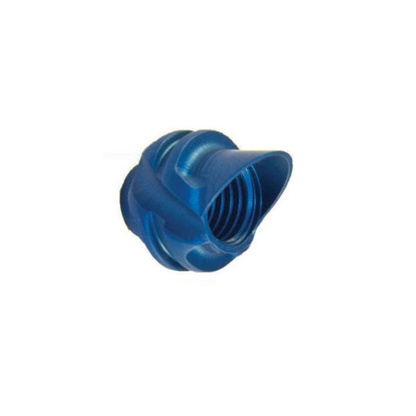 Speciality Archery Pro Series 45 Degree Hooded Peep Blue