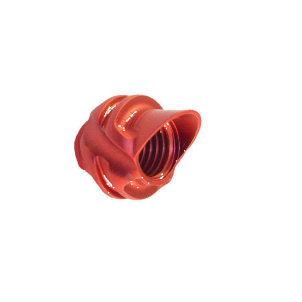 Speciality Archery Pro Series 45 Degree Hooded Peep Red