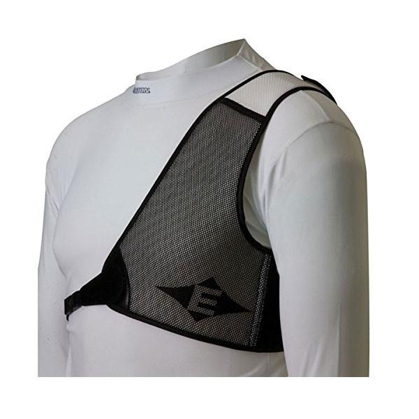 Easton Diamond Chest Guard RH White/Black Large