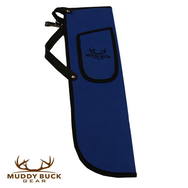 Muddy Buck Gear Codura Side Quiver w/ Belt Clip Blue