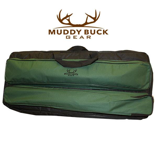 Muddy Buck Gear Recurve Back Pack Blk/Hunter Green