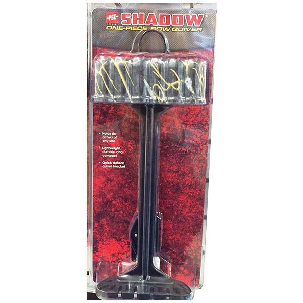 New PSE Archery Shadow One Piece 6 Arrow Quiver Skullworks Camo 01223SW