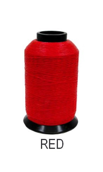 BCY Size 24 D Loop Rope- 100 ft Red Spool